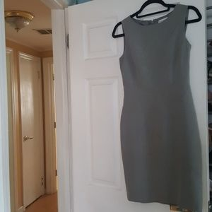 Grey Calvin Klein dress